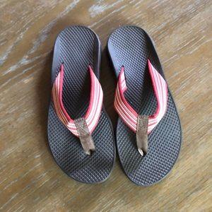 Brand new Chaco flip flops